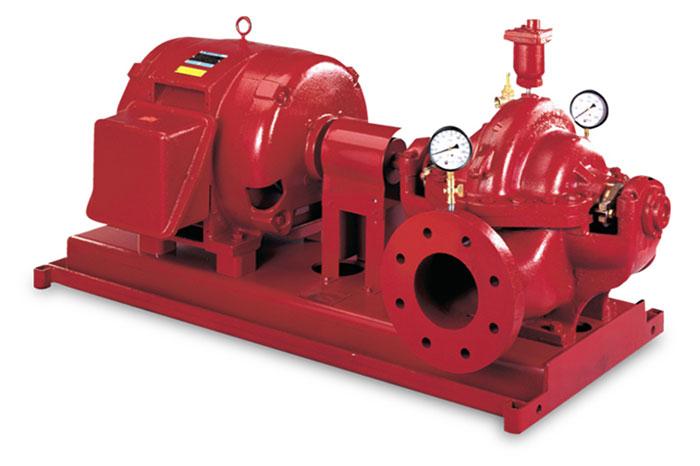 Horizonal-split-case-fire-pump
